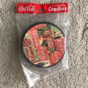 Coca Cola Kitchen - Coca-Cola Deco plastic coasters